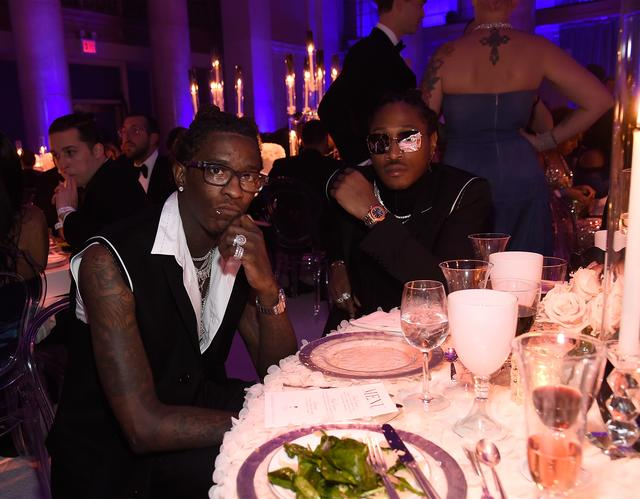 Young Thug & Future at Rihanna's Diamond Ball