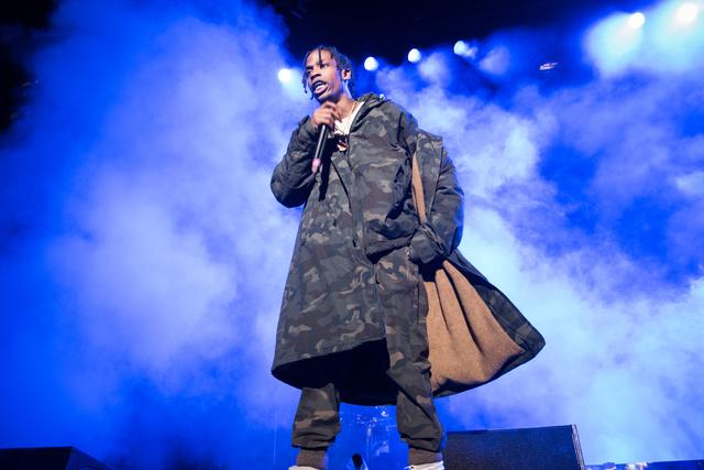 Travis Scott at Roc Classics event