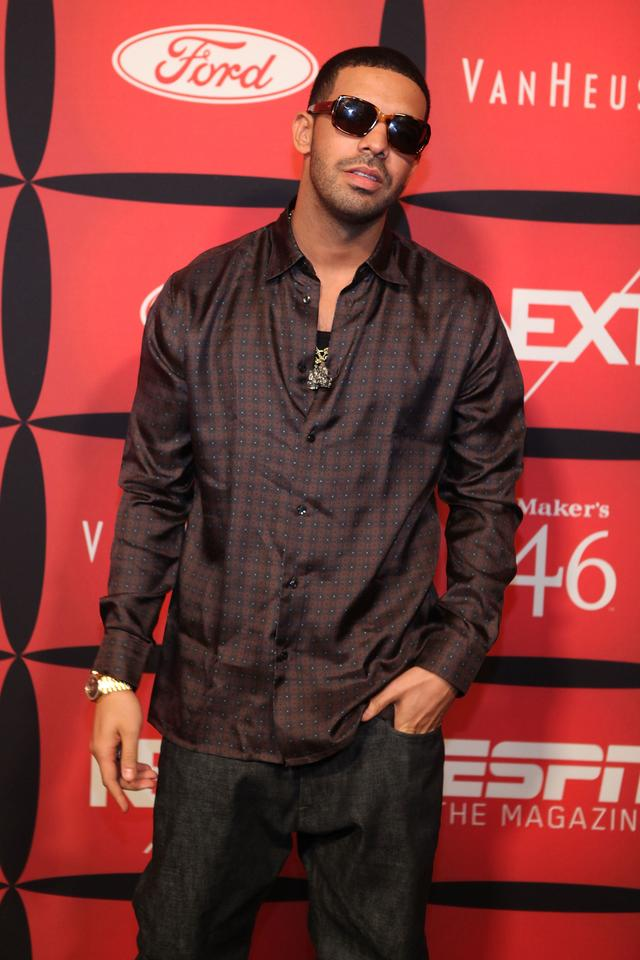 Drake at an ESPN event in 2012