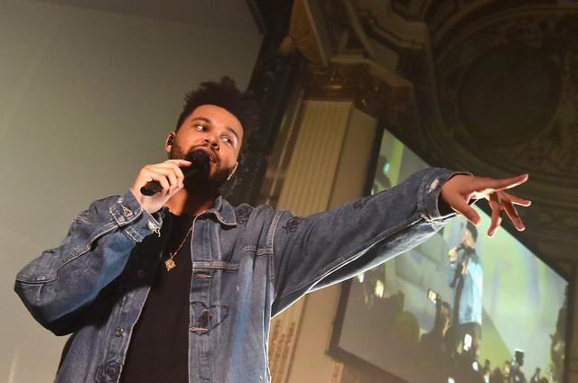 The Weeknd performs onstage during Harper's BAZAAR Celebration of 'ICONS By Carine Roitfeld' at The Plaza Hotel presented by Infor, Laura Mercier, Stella Artois, FUJIFILM and SWAROVSKI on September 8, 2017 in New York City. (