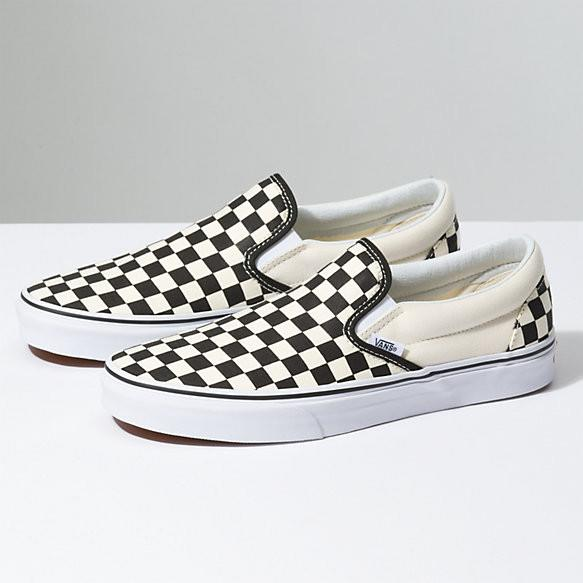 Vans slip-on checkerboard sneakers