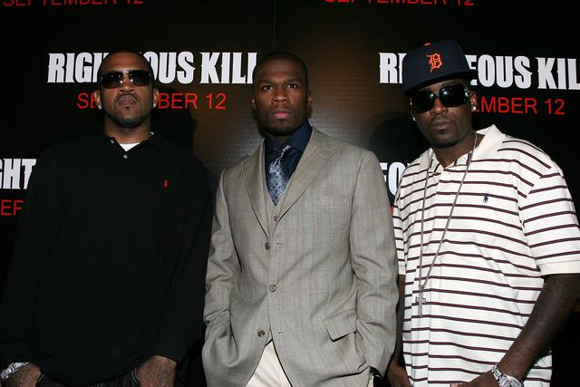 50 Cent Righteous Kill premiere with Lloyd Banks