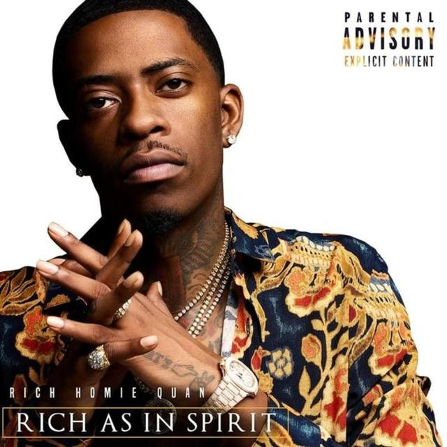 "Rich Homie Quan ""Rich as in Spirit"" album cover"