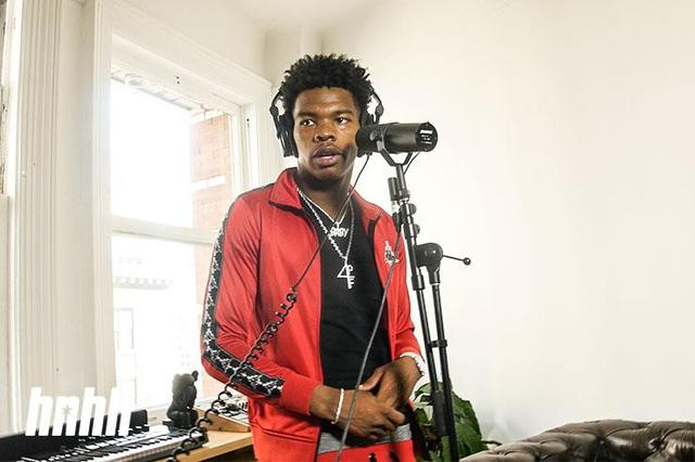 Lil Baby at the HNHH NYC office