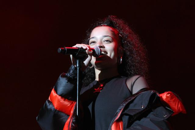 Singer Ella Mai performs at Power 105.1's Powerhouse 2018 at Prudential Center on October 28, 2018 in Newark, New Jersey.