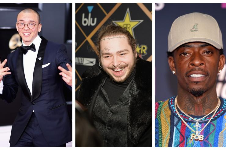 Logic, Post Malone and Rich Homie Quan are all on FIRE EMOJI