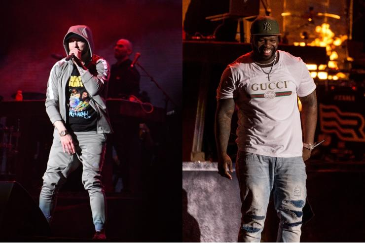Eminem and 50 Cent performed at Gov Ball 2018