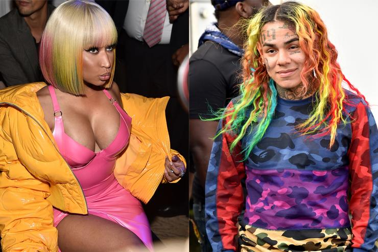 Nicki Minaj and Tekashi