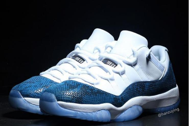 "ea34fcd54e9a Air Jordan 11 Low ""Snakeskin"" Release Details Revealed  New Images"