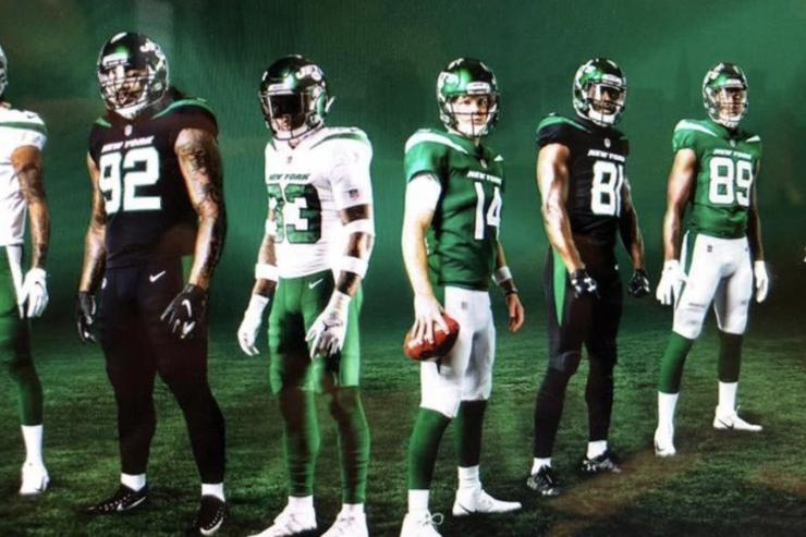 Jets blasted after officially releasing uniforms
