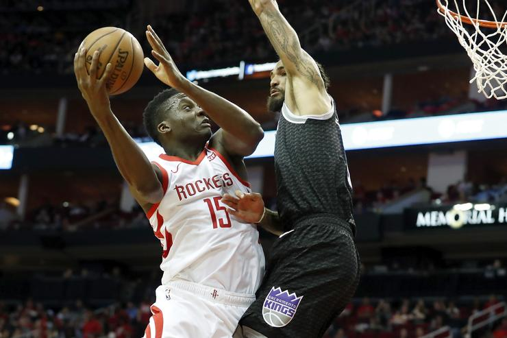 The Houston Rockets advanced to the Western Conference semi-finals