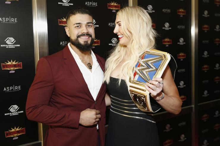 Charlotte Flair & Andrade