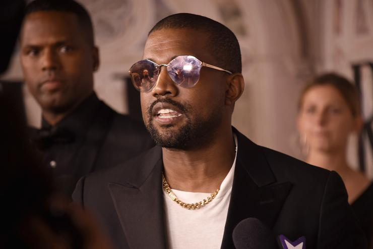 Kanye West attends the Ralph Lauren 50th Anniversary event during New York Fashion Week at Bethesda Terrace on September 7, 2018 in New York City