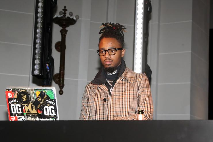 Metro Boomin spins at the RapCaviar Pantheon Exhibition at Brooklyn Museum on April 2, 2019 in New York City