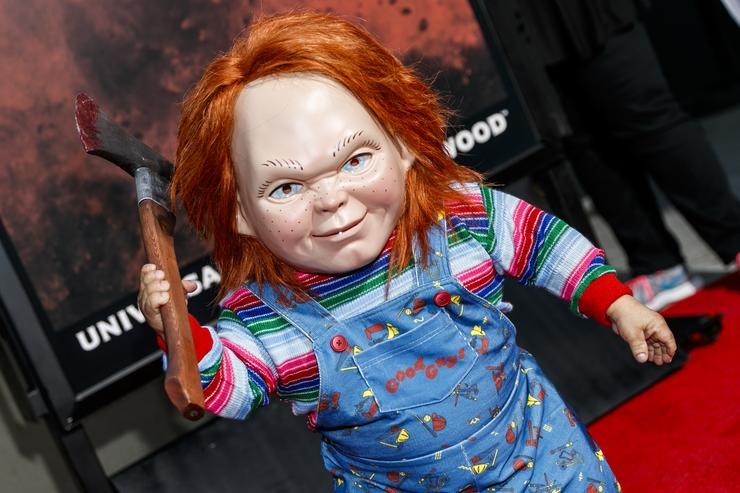 New 'Child's Play' Poster Murders a 'Toy Story' Character