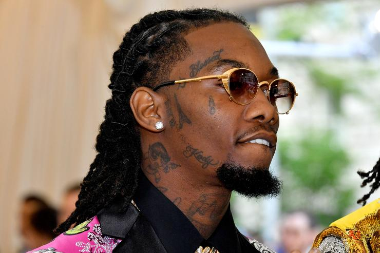 Offset Escapes Drive By At Atlanta Studio VIDEO