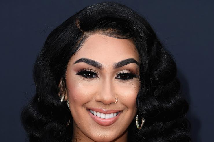 Queen Naija attends the 2019 Billboard Music Awards at MGM Grand Garden Arena