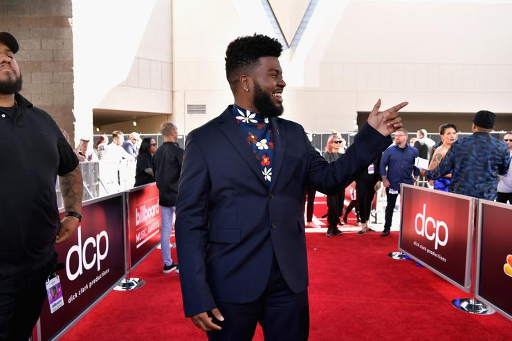Khalid attends the 2019 Billboard Music Awards