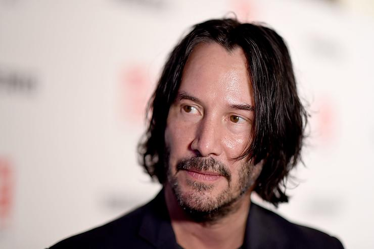 """Keanu Reeves attends the""""Siberia"""" New York Premiere at The Metrograph"""