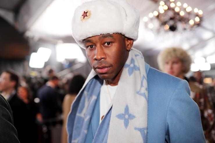 Tyler, the Creator at the Grammys