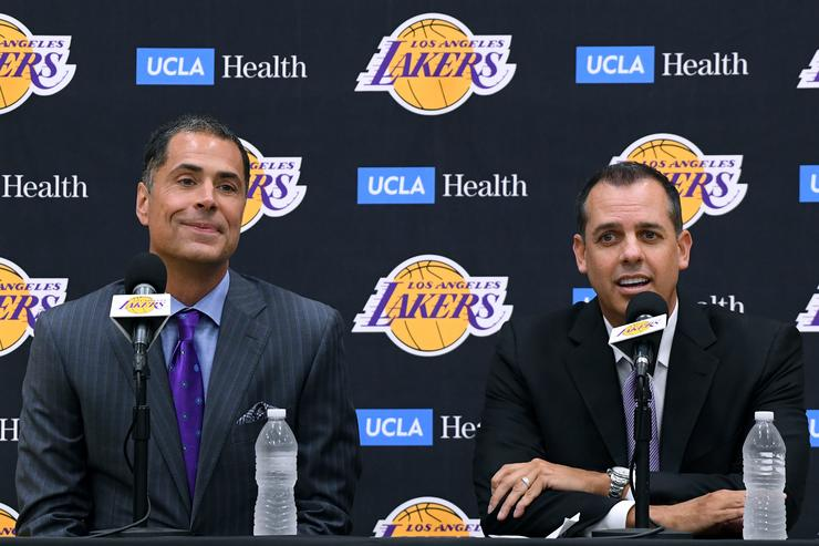 Pelinka: Lakers have 'an opportunity to win' title