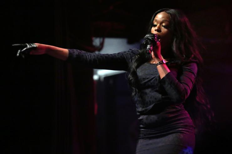 Azealia Banks performs during Canadian Music Week 2019 at The Phoenix Concert Theatre on May 8, 2019 in Toronto, Canada