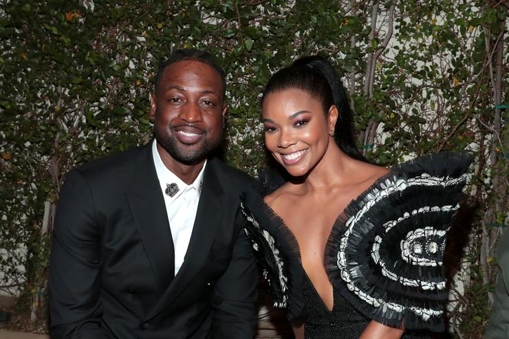 Gabrielle Union and Dwayne Wade out in LA