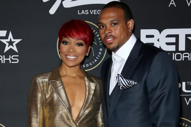 Monica and Shannon Brown before the divorce