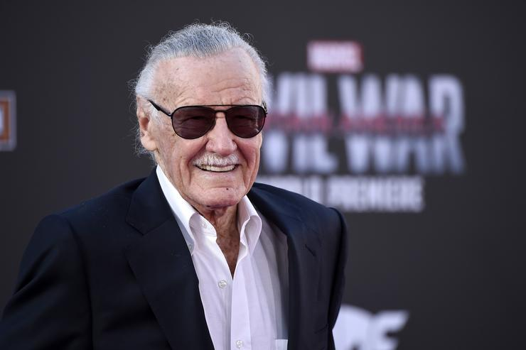 "Stan Lee attends the premiere of Marvel's ""Captain America: Civil War"" at Dolby Theatre"