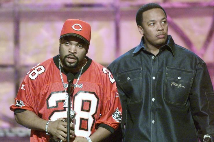 Ice Cube and Dr. Dre vintage pic