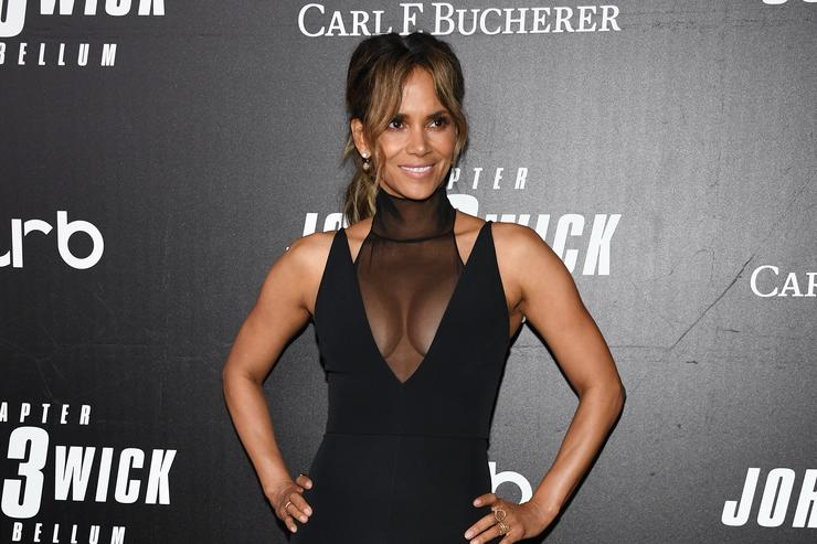 Halle Berry at John Wick movie premiere