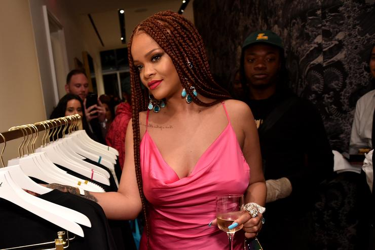Rihanna at FENTY Pop-up 2019