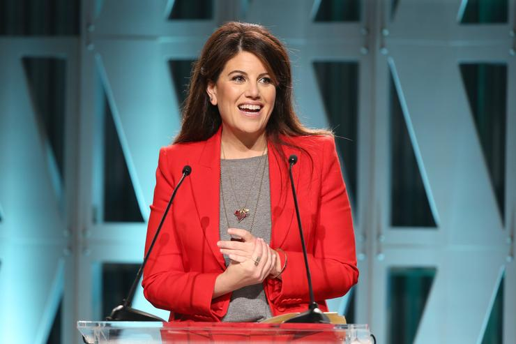 Monica Lewinsky at The Hollywood Reporter's Power 100 Women In Entertainment