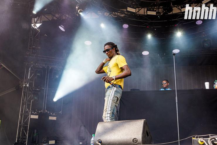 Young Thug at Osheaga 2019