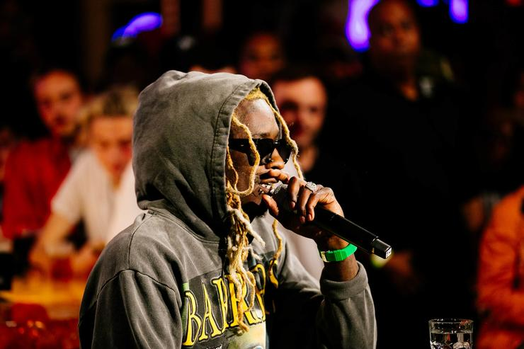 Young Thug at CRWN TIDAL event
