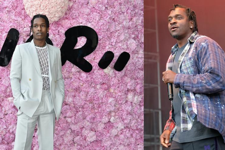 Pusha T and Rocky