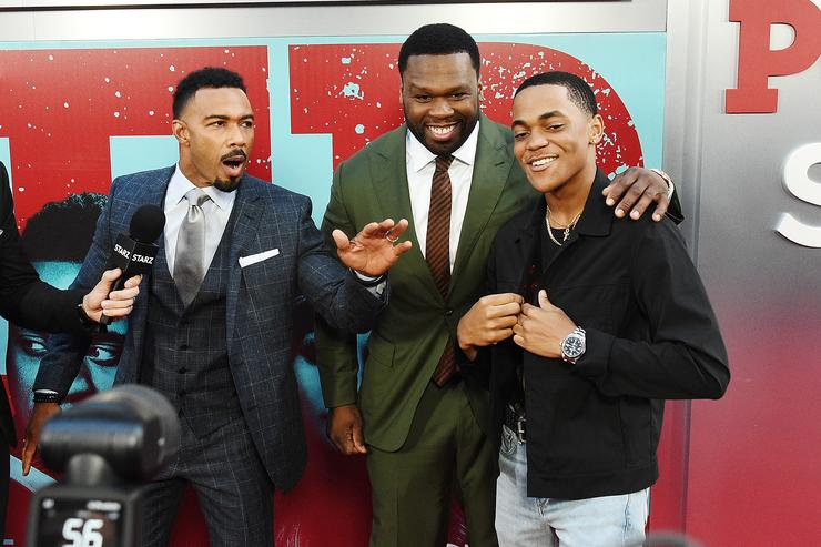 50 Cent and Tariq from Power
