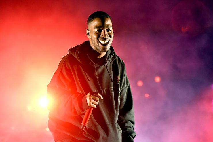 Kid Cudi performs onstage during the Smokers Club Festival at The Queen Mary on April 29, 2018 in Long Beach, California