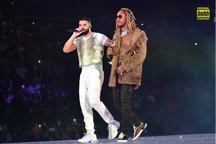 Drake & Future performing together