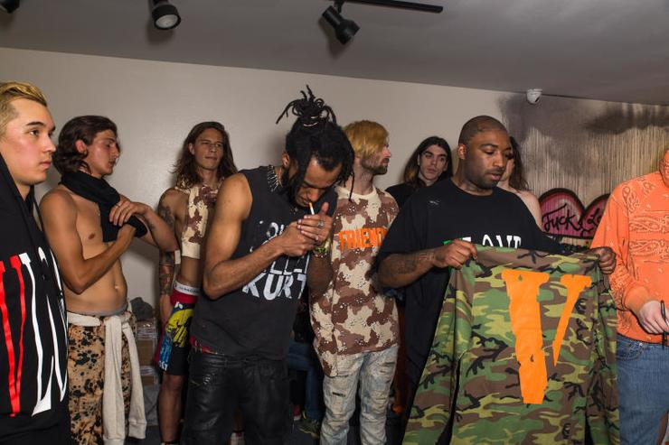 VLONE Fashion Show in LA.