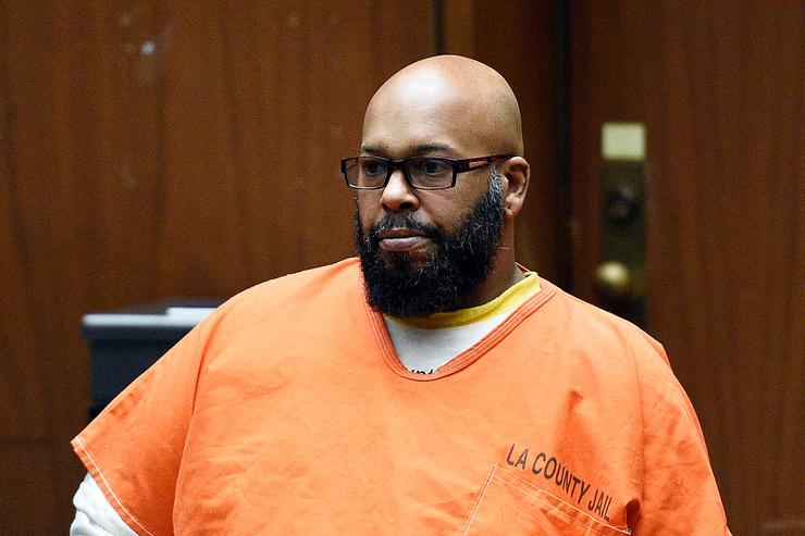 Marion 'Suge' Knight appears for a hearing at the Clara Shortridge Foltz Criminal Justice Center March 9, 2015 in Los Angeles, California.