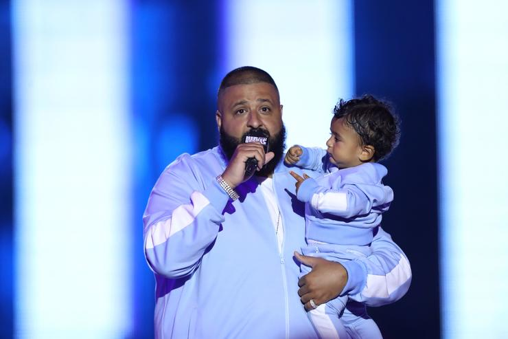 DJ Khaled & Asahd at VH!'s Hip Hop Honors Event